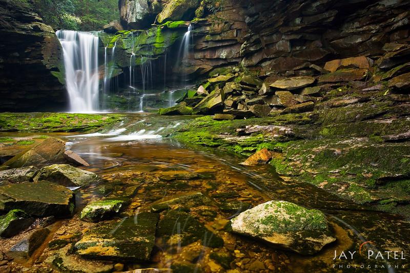 Elakala Falls, Blackwater Falls State Park, West Virginia (VW),  USA
