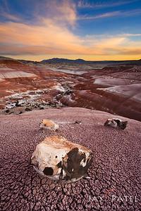 Bentonite Hills, Capital Reef National Park, Utah (UT), USA