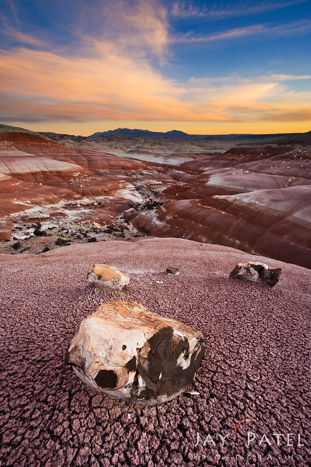 Bentonite Hills, Capital Reef National Park, Utah (UT), USA