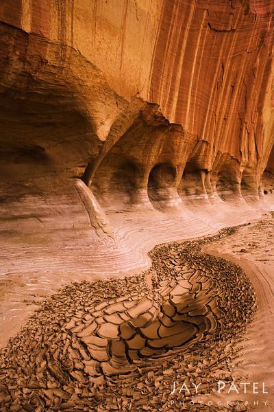Paria River, Vermillion Cliff, Utah (UT, USA