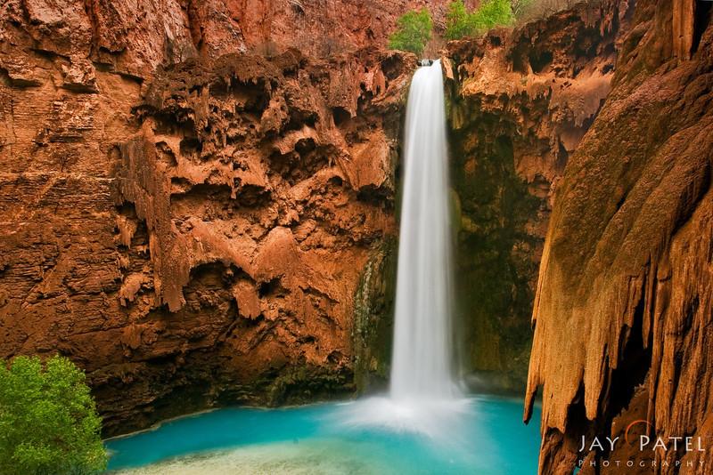 Mooney Falls, Havasu Canyon, Arizona (AZ), USA