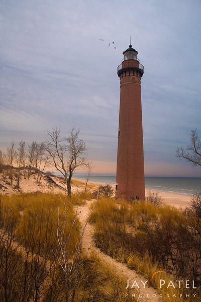 Lake Michigan, Michigan (MI), USA