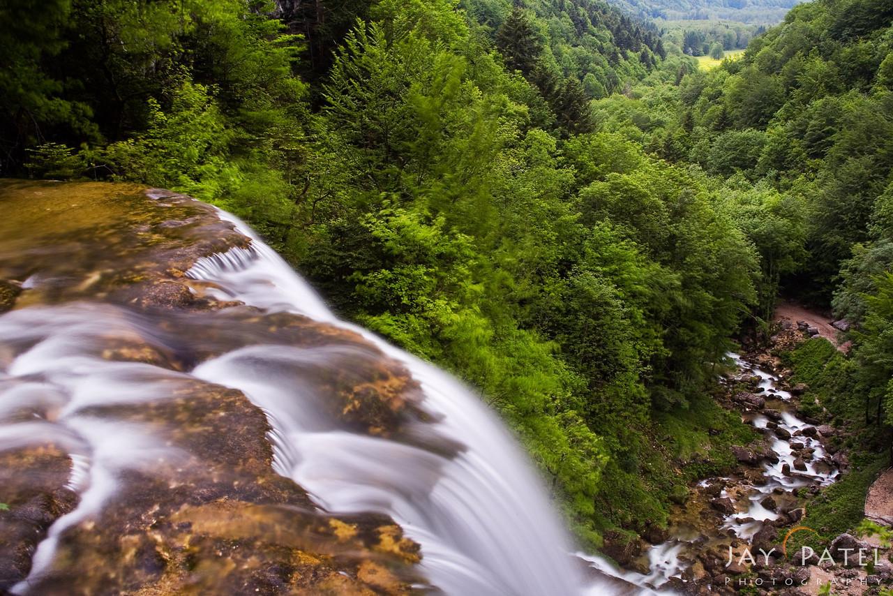 Cascade Du Herrison, Jura-Burgundy District, France