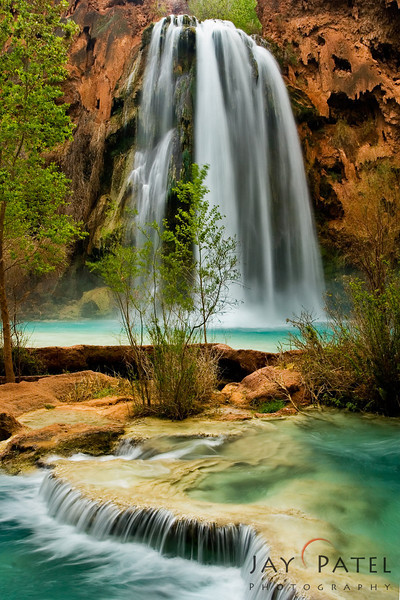 Havasu Falls, Havasu Canyon, Arizona (AZ), USA