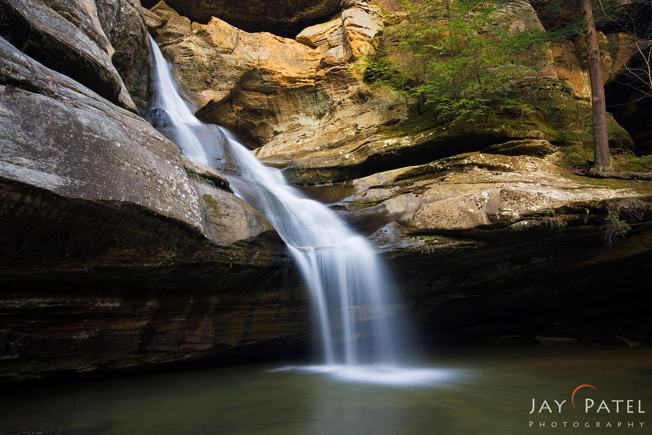 Cedar Falls, Hocking Hills State Park, Ohio (OH), USA