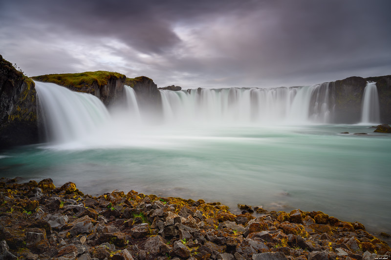 Goðafoss from below