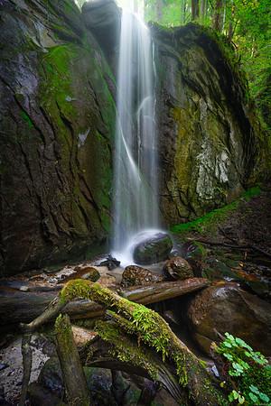 Finstersee waterfall #1