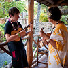 Timothy, ukelele lesson, Polynesian Cultural Center