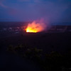 While we didn't get to see the lava flow into the ocean, we did get to experience the incredible night glow at the Halema'uma'u Crater of Kilauea volcano.  Amazing!