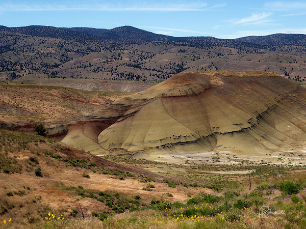 Blue Basin and the Painted Hills 2017