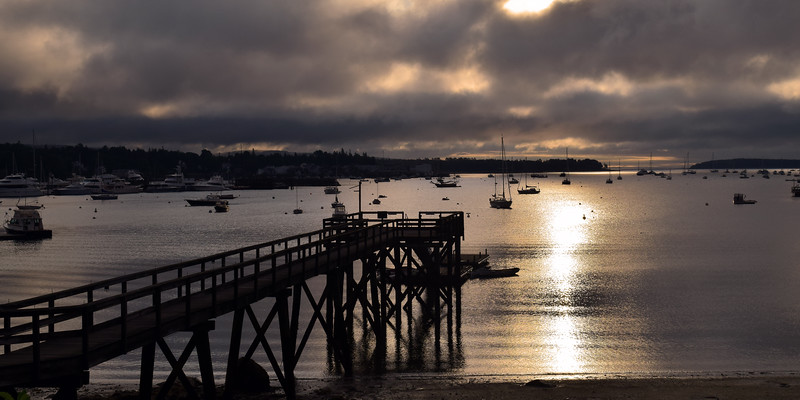 Southwest Harbor Pier | Mount Desert Island, Maine
