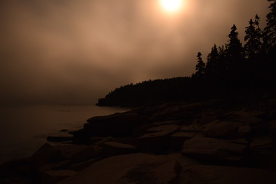 Moonlit Coast | Acadia National Park