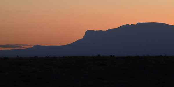 Guadalupe Mountains Sunset | Guadalupe Mountains NP