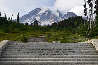 Muir Quote | Mount Rainier National Park