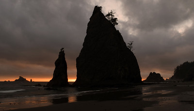Rialto Beach Sunset | Olympic National Park