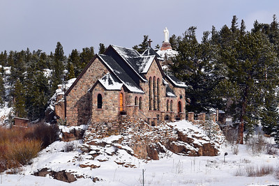 "Chapel on the Rock "" Allenspark, CO"