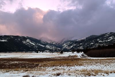 Morain Park Winter   Rocky Mountain NP