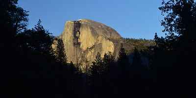 Afternoon Half Dome   Yosemite National Park