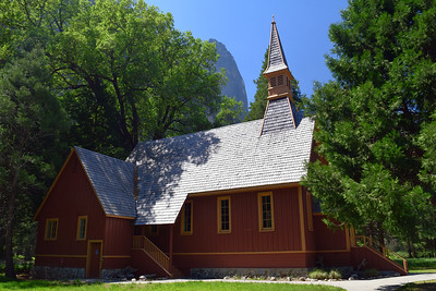 Yosemite Valley Chapel   Yosemite National Park