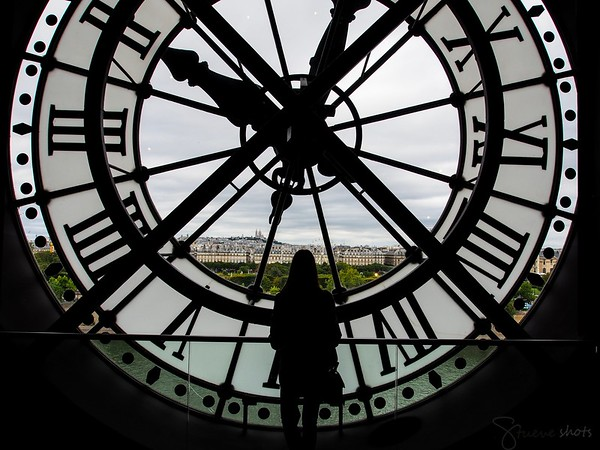 At the end of the top galleries of the Orsay. Photo by Jonathan.