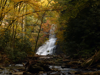 Autumn Cascades | Jefferson National Forest, VA