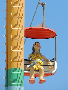 Sky Glider | Santa Cruz Boardwalk