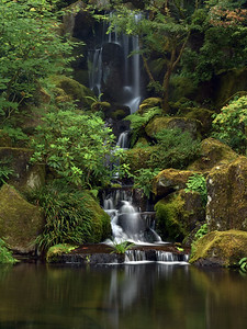 Heavenly Falls | Portland Japanese Garden