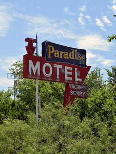 Paradise Motel | Route 66 in New Mexico