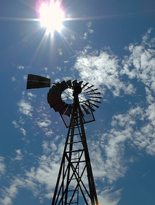 Tucumcari Windmill | Route 66 in NM