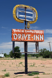 Abandoned Drive Inn | Tucumcari, NM