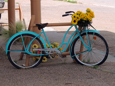 Sunflower Bike | Route 66 in Texas