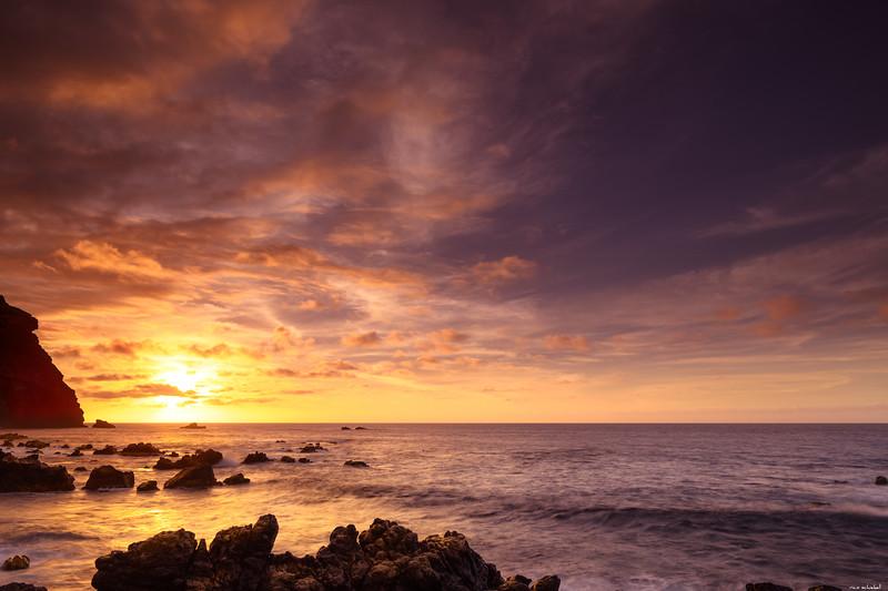 Golden sundown