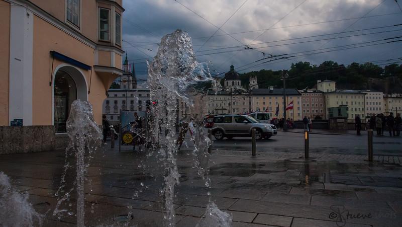 Fountains in Salzburg