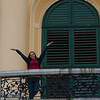 Sarah at Schönbrunn