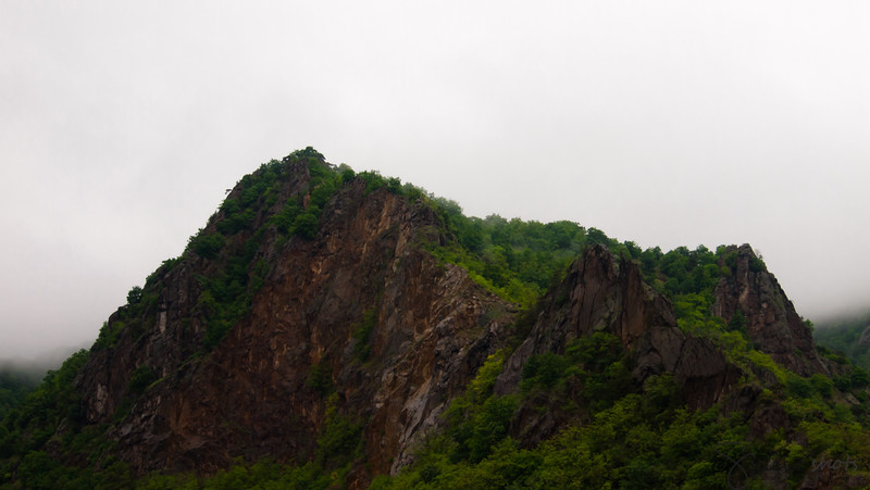 The Rocky Crags around the Danube