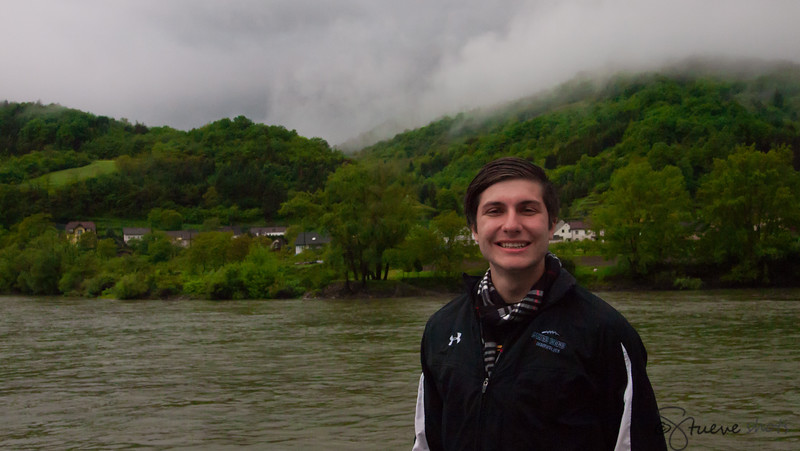 Shane on the Danube