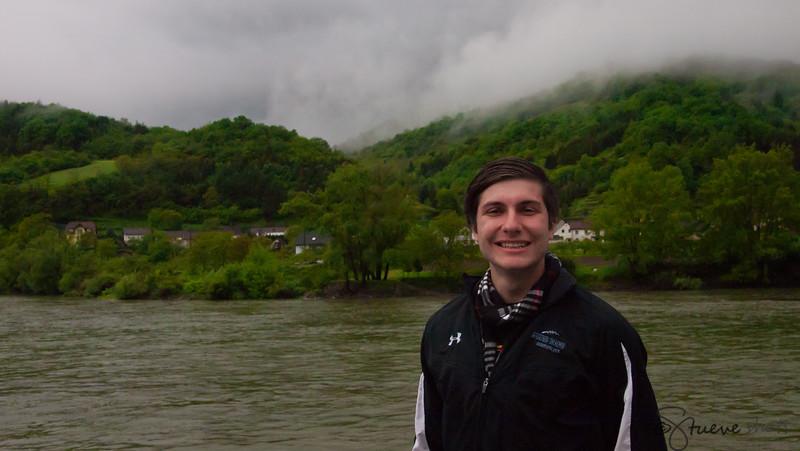 Shane on the Danube