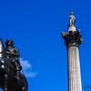 Nelson's Column in Trafalgar Square. (That's Charles I on horseback.) Photo by Jonathan.