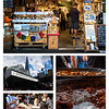 Jonathan insisted that we visit Borough Market--we missed this last time we were in London, but he had enjoyed with his friends during the ATW trip.  He was right--it bustled with energy, color, and glorious smells.  Wonderful!  Photos by Heather.