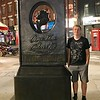 A memorial found not far from the Noel Coward theatre.  This photo was taken specifically for our Norwegian son/brother, Erlend, who loves Agatha Christie. Shot by Heather on her phone.