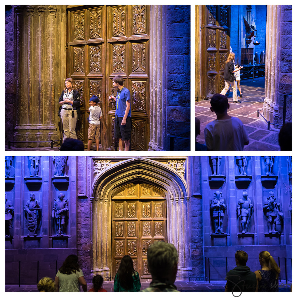 Being Birthday Boys, Two Young Men Get to Open the Doors to the Great Hall