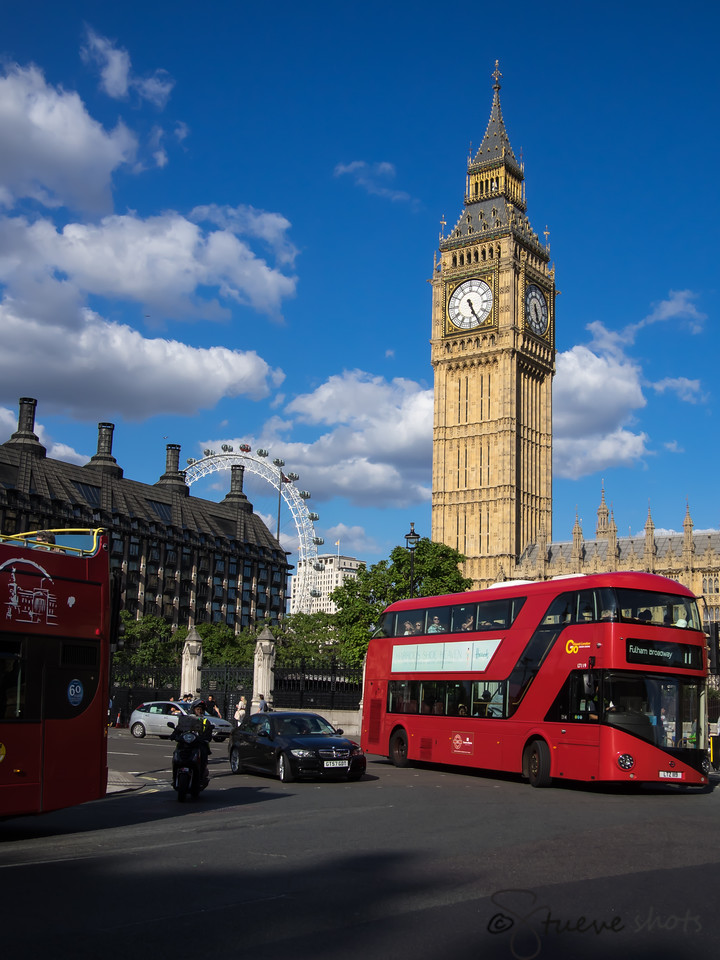 British Icons; or, the No. 11 Is the Best Bus to Ride