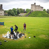 Chess in a Castle's Green