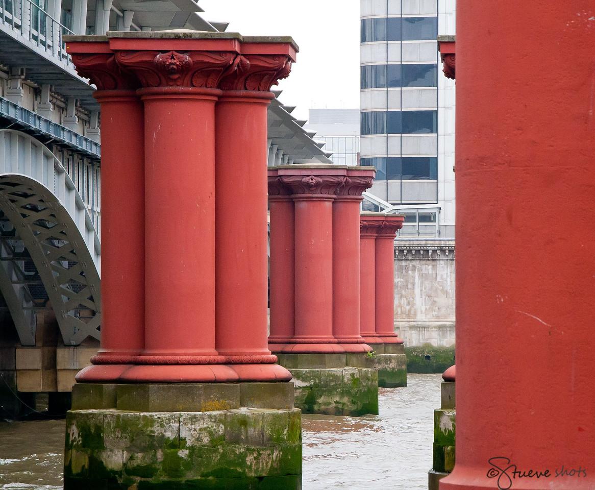 All That Remains of the Original Blackfriars Bridge