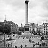 Trafalgar Square as Viewed from the Steps of the National Gallery