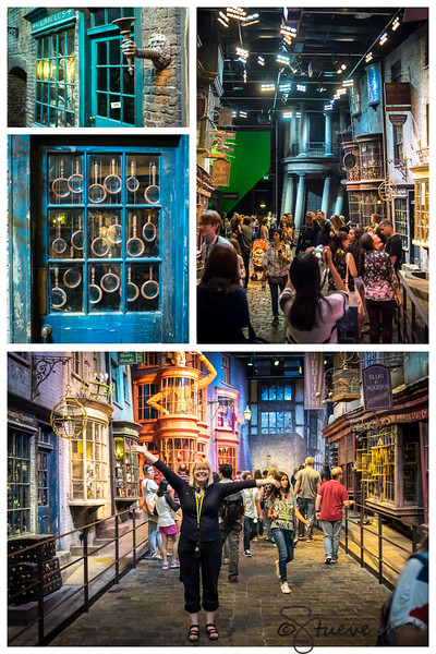 """Welcome,"" said Hagrid, ""to Diagon Alley."""