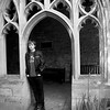 Timothy in the South Cloisters, New College, Oxford.