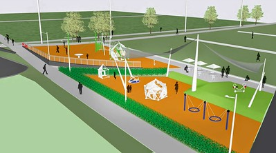 Long Bridge Park - Phase 3A - Kid Play Areas