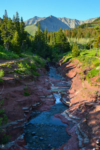 Red Rock Canyon Waterton Provincial Park, Alberta