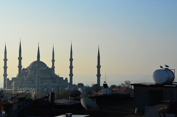 The Blue Mosque<br /> Istanbul, Turkey